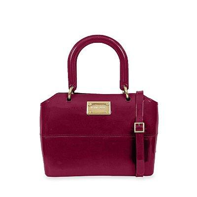Bolsa Zip Bag Bordô Petite Jolie