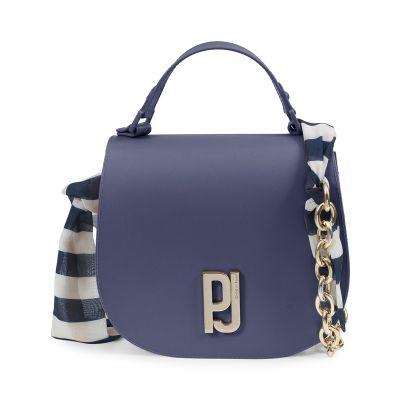 Bolsa Saddle Bag com Alça de Tecido Petite Jolie