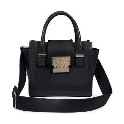 Bolsa Love Bag com Detalhe Metalizado Petite Jolie