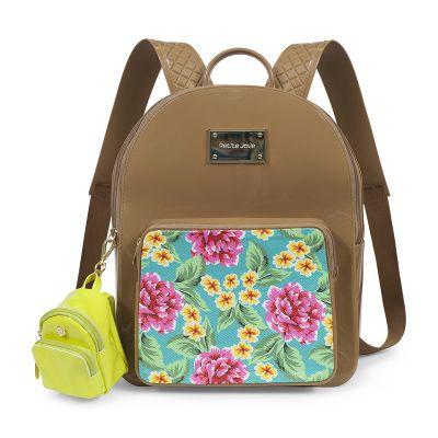 Mochila Kit Bag com Mini Chaveiro Petite Jolie