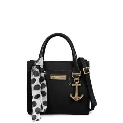 Love Bag com Lenço e Detalhe de Âncora Petite Jolie