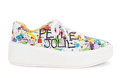 Tênis com Estampa Colorida Petite Jolie