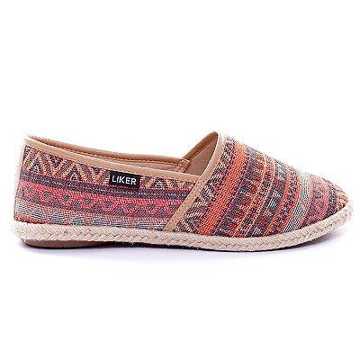 Alpargata Estampa Étnica Liker Shoes