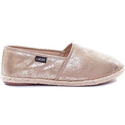 Alpargata Dourada Liker Shoes