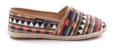 Alpargata com Desenho Étnico Liker Shoes