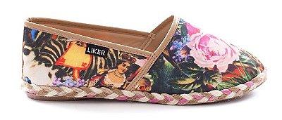 Alpargata com Estampa Floral Liker Shoes