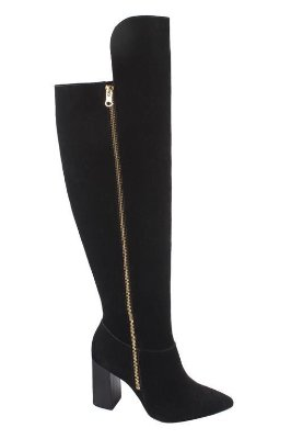 Bota Over The Knee Bico Fino Lia Line