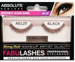 Cilios  inteiros cabelo Humanos Fabulashes AEL25