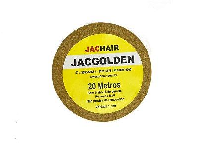 Fita 20mts Amarela Que Não Mela - Front Full Lace Jachair + Removedor de Resíduos 100mL