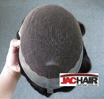 Jac-22 Protese Capilar Tela Com Silicone 20x25 cm COM KIT MANUTENÇÃO
