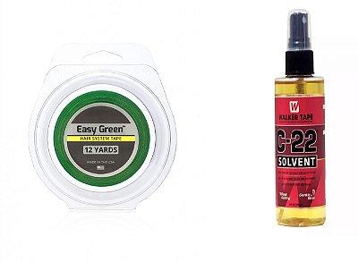 Fita Easy Green Verde + Removedor C22 Jachair