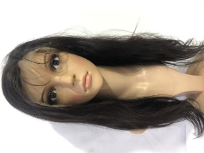 Protese Full Lace  Cabelo Humano Natural Remy 45  Cm