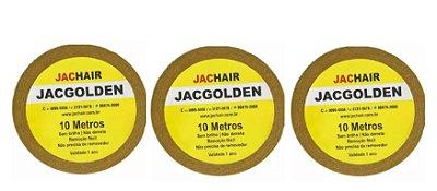 Kit 3 Fitas Amarela que Não Mela 10 metros + Removedor 100mL