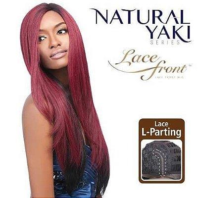 Peruca Front Lace Wig Outre  L Part - YAKI 24