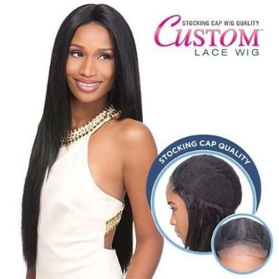 Peruca Front Lace Wig Sensationnel   Yaki 30