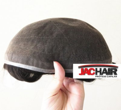 Jac-100 H D De Alta Definição Prótese Capilar + KIT MANUTENÇÃO