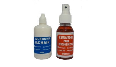 Cola Aquibond 100ml Protese Capilar  + Removedor