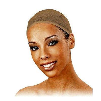 Touca Wig Cap BEGE  - Para Perucas Full Lace Front Lace 2pçs