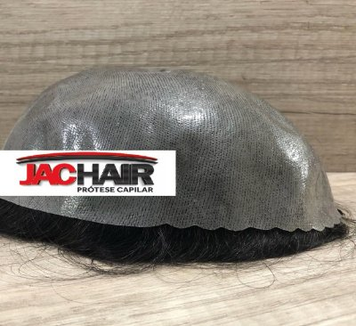 Prótese Capilar + cola  Jac Hold 30mL + Removedor + Inibidor de oleosidade