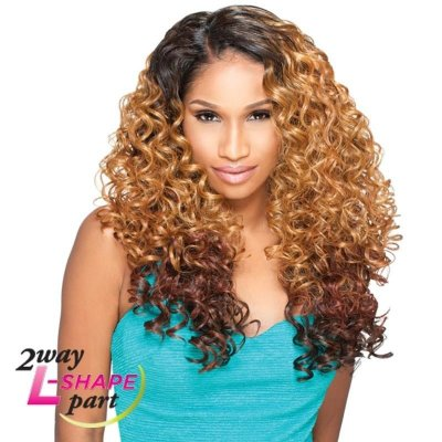 "Peruca Front Lace Sensationnel Empress Blend ""L"" Part  Alexis"