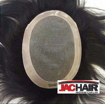 Jac-65 Protese Capilar Tela Com Silicone varios tamanhos + KIT MANUTENÇÃO