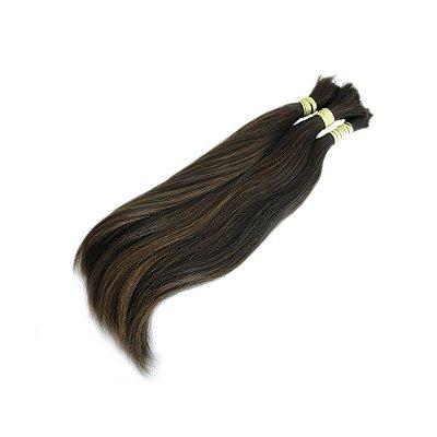 Mega Hair Cabelo Humano Fio A Fio 30cm 100g Jachair