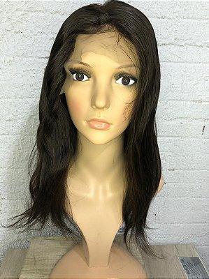 Front Lace 13x6 Humana 40cm #2 + Creme Brinde Jachair
