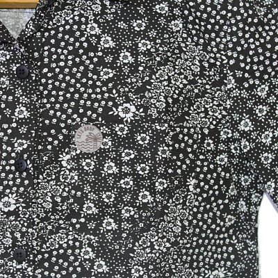 Camisa Let's Drop Floral Preta