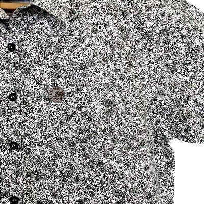 Camisa Let's Drop Floral Branca