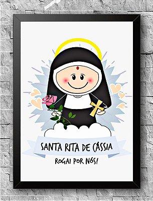 Quadro Santa Rita De Cássia