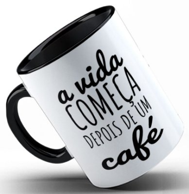 Caneca Depois de um café