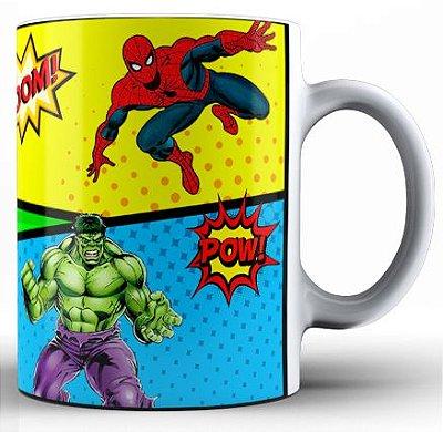 Caneca Super Heróis (2)
