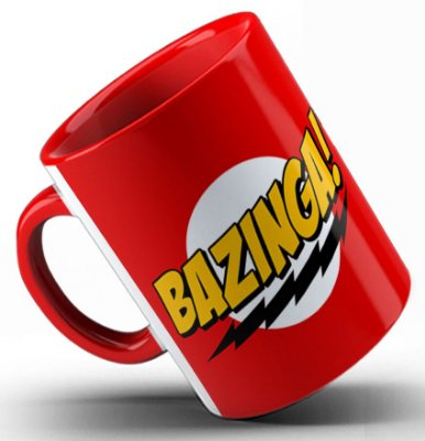 Caneca The Big Bang Theory Bazinga
