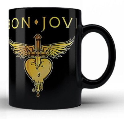 Caneca Bon Jovi