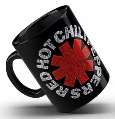 Caneca Red Hot Chili Peppers (1)