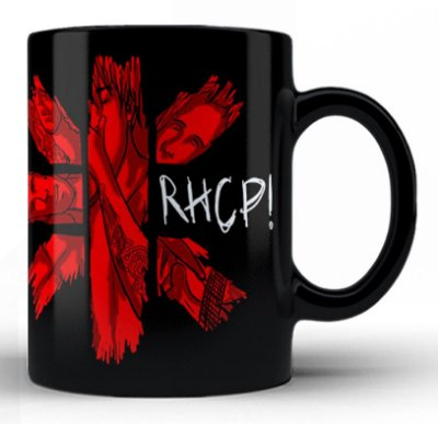 Caneca Red Hot Chili Peppers (3)