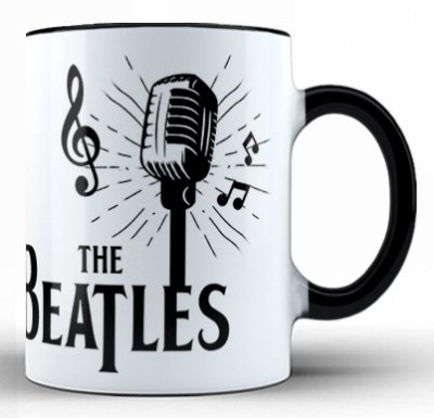 Caneca The Beatles (2)
