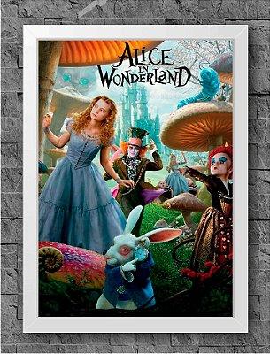 Quadro Alice no País das Maravilhas (1)
