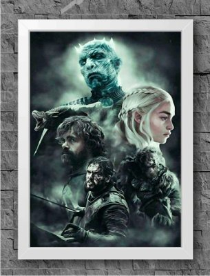 Quadro Game of Thrones (6)