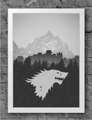 Quadro Game of Thrones (7)