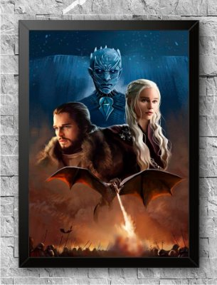 Quadro Game of Thrones (8)