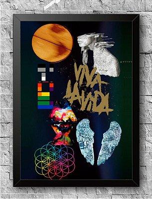 Quadro Coldplay (3)