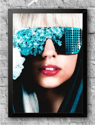 Quadro Lady Gaga (2)