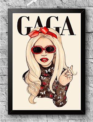 Quadro Lady Gaga (4)