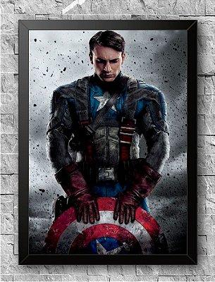Quadro Capitão América (1)