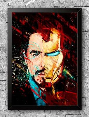 Quadro Homem de Ferro (1)