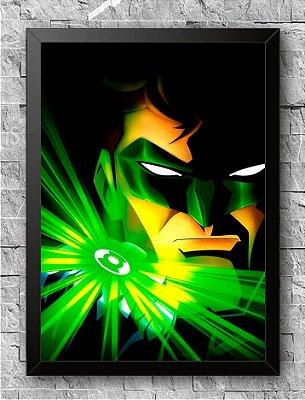 Quadro Lanterna Verde (2)