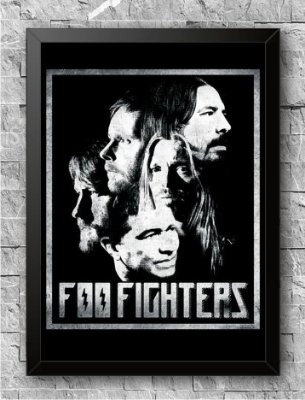 Quadro Foo Fighters (1)
