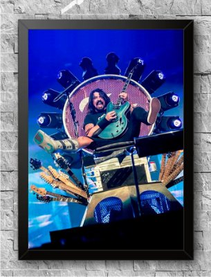 Quadro Foo Fighters (2)