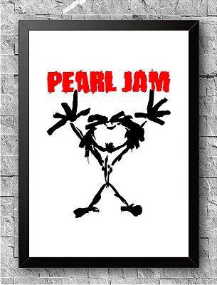 Quadro Pearl Jam (1)